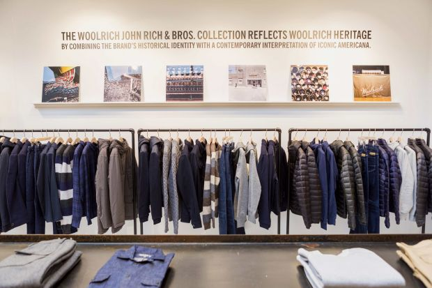 Woolrich's new store