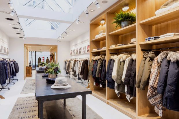 Woolrich opens in Antwerp