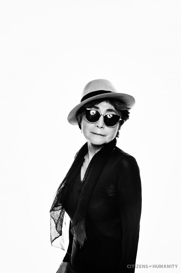 Yoko Ono shot by Francesco Carrozzini