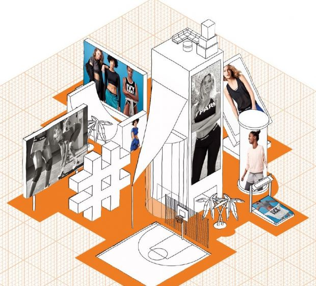 Zalando's artwork accompanying the financial results of the company.