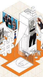 Zalando's artwork accompanying the company's financial results.