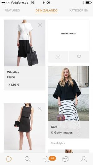 Zalando's fashion feed