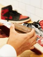 Sneaker cleaning by Jason Markk