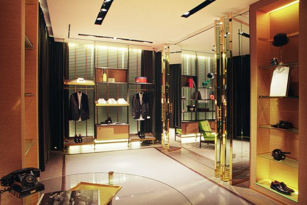 luxury fashion store Dell'Oglio