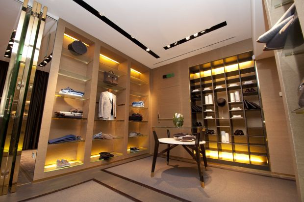 luxury fashion store Dell'Oglio in Palermo