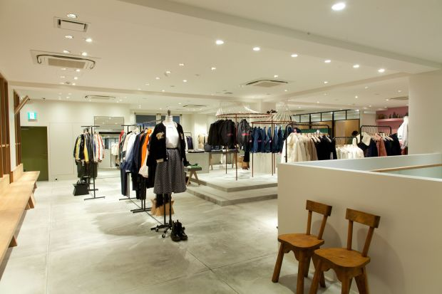 new Beams women store Shibuya