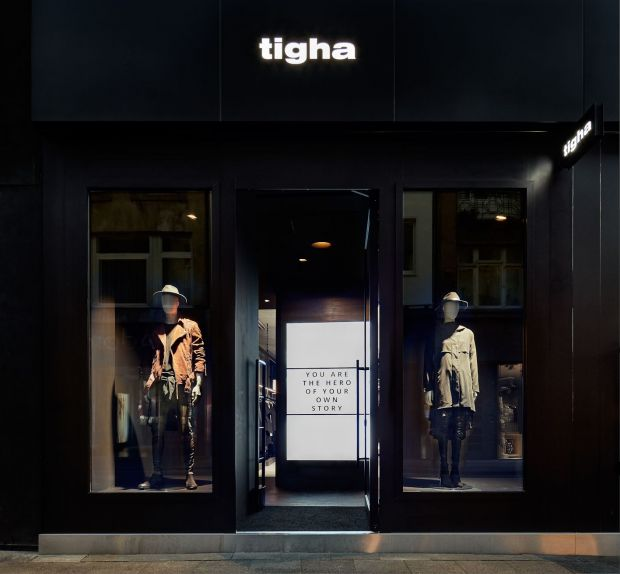 The Tigha store in Cologne's Ehrenstraße