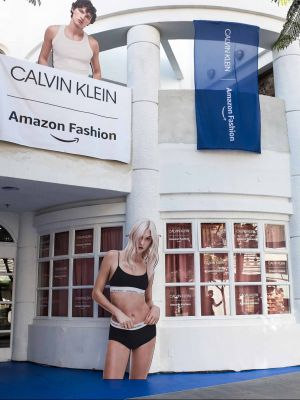 New Calvin Klein X Amazon Fashion Pop-Up Store