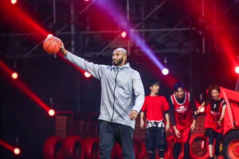 Kobe Bryant at the 11.11 Global Shopping Festival gala.