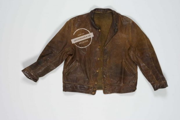 Archive Albert Einstein Levi's jacket