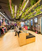 Asics concept store in Brussels.