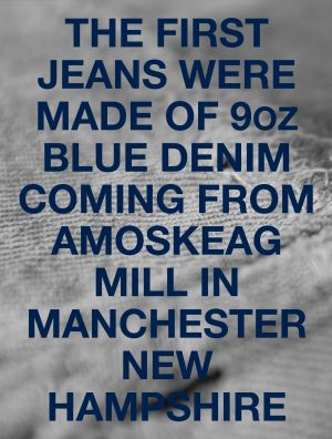 "New Book ""Number two - a Life with denim"""