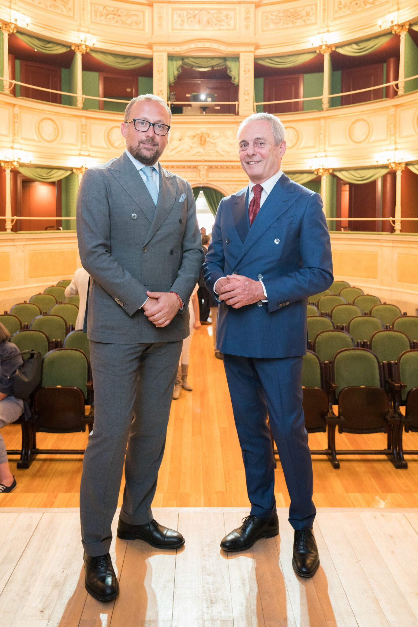 Botto Poala, president, and Massimo Mosiello, director Milano Unica