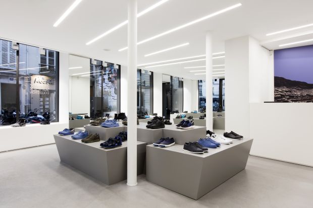 Lab store in Paris