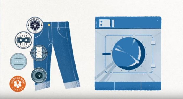 Candiani's sustainable denim treatment processes
