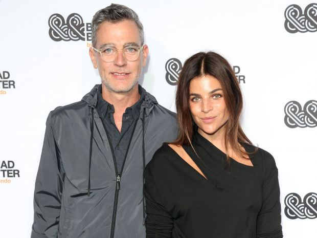 Carsten Hendrich (Zalando) with Julia Restoin Roitfeld at Bread & Butter