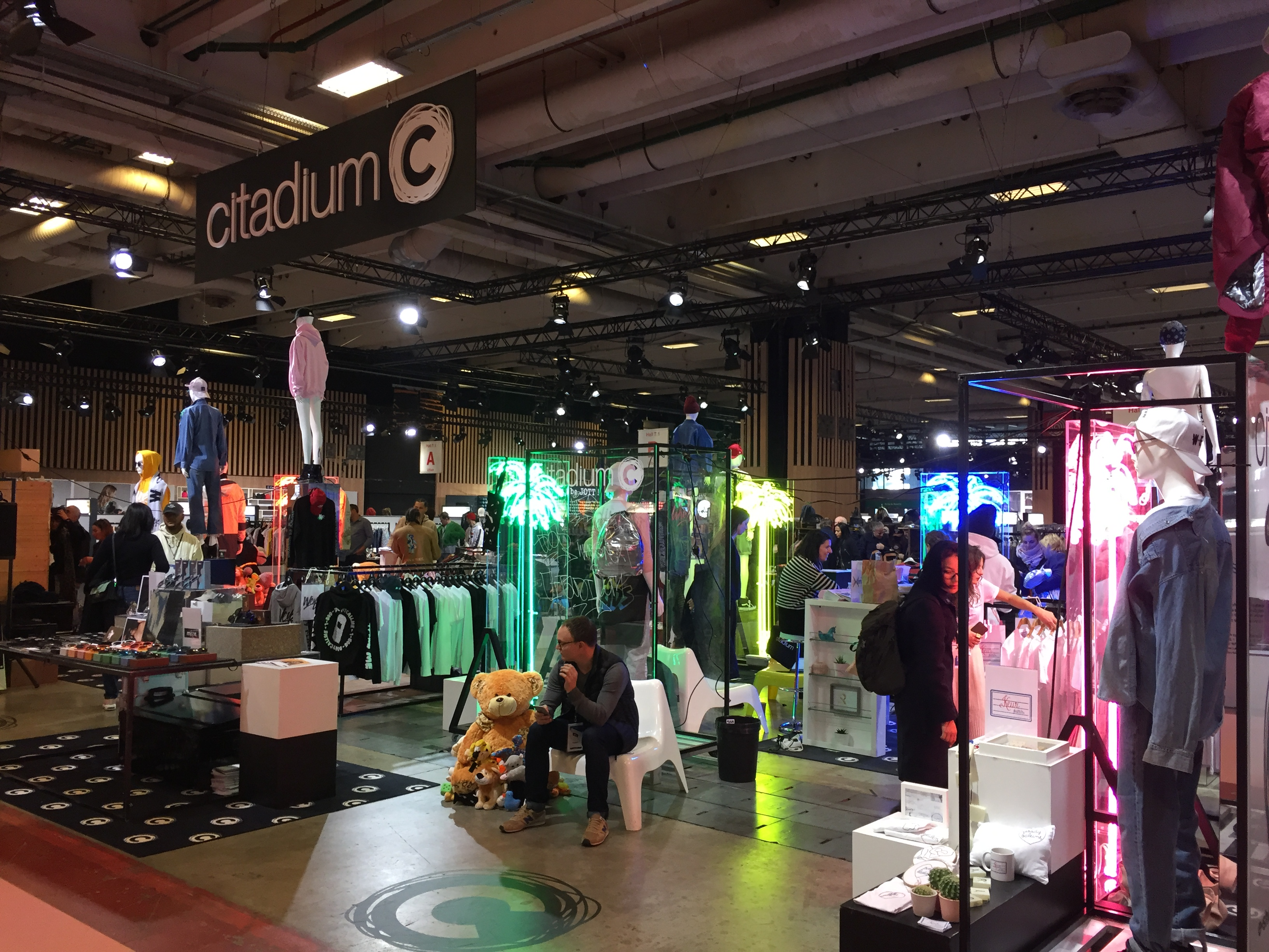 Citadium space in the Urban area