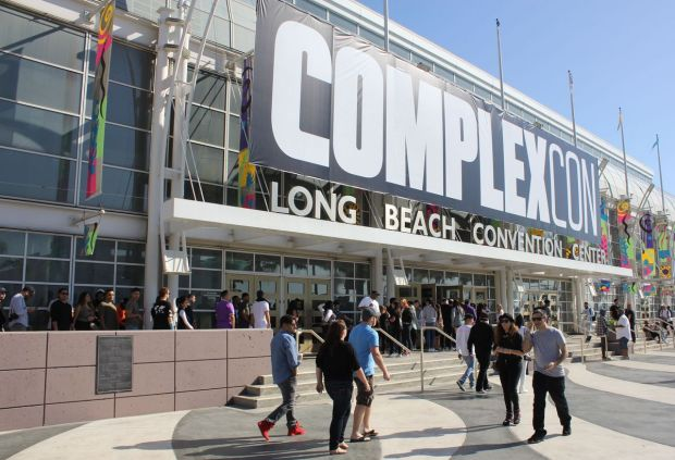 Complexcon main entrance at the Long Beach Convention Center.