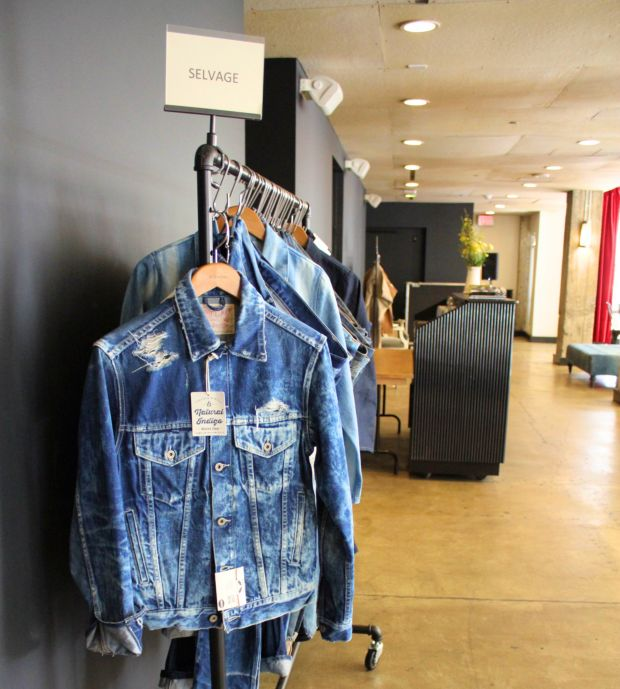 Cone Denim showed their latest denim innovation at LA's Ace Hotel