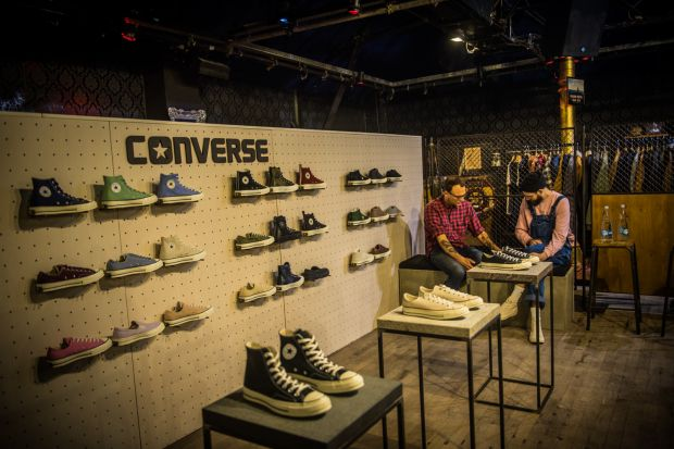 Converse booth