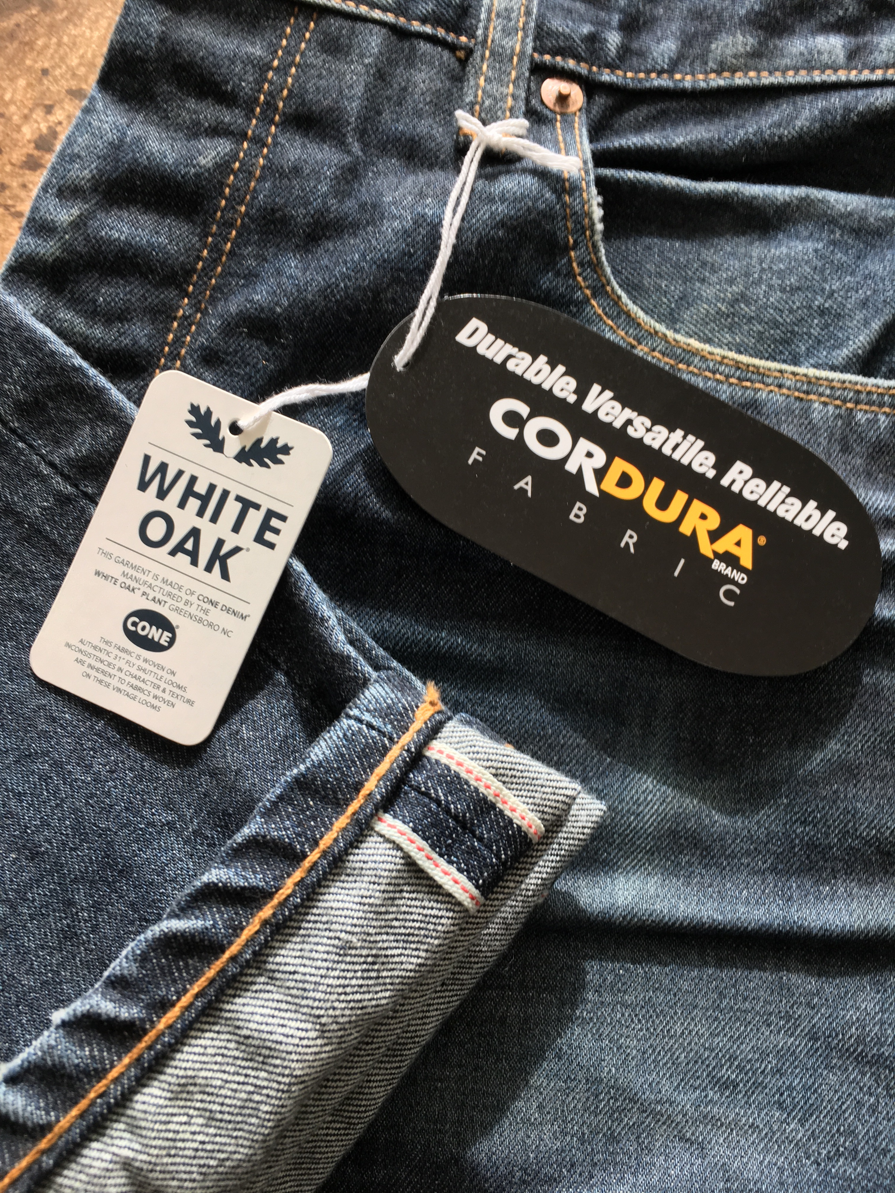 Cordura and Cone Denim launch first Cordura Selvage Denim