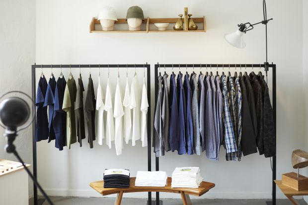 The stores carries in house brands like Counter Space interiors and Lady White Co clothing.