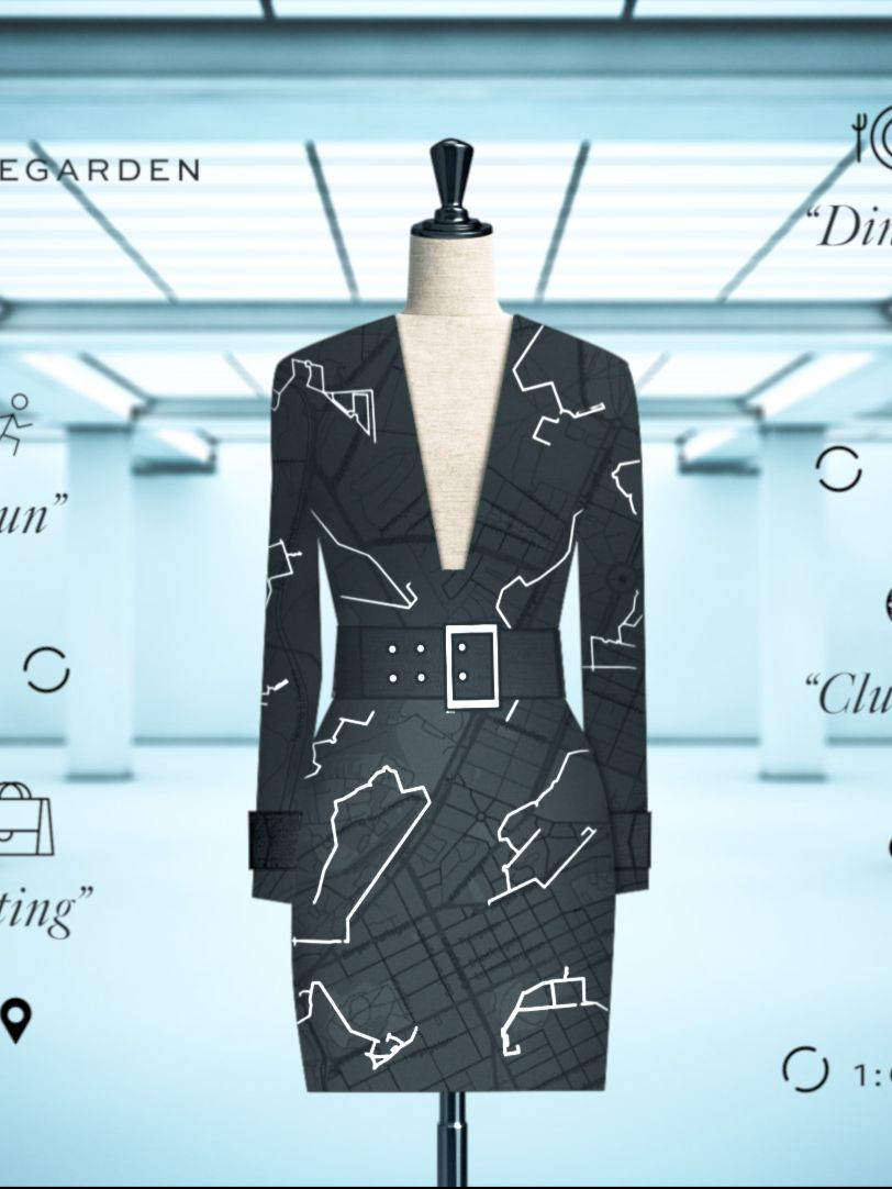 Creation of the data dress