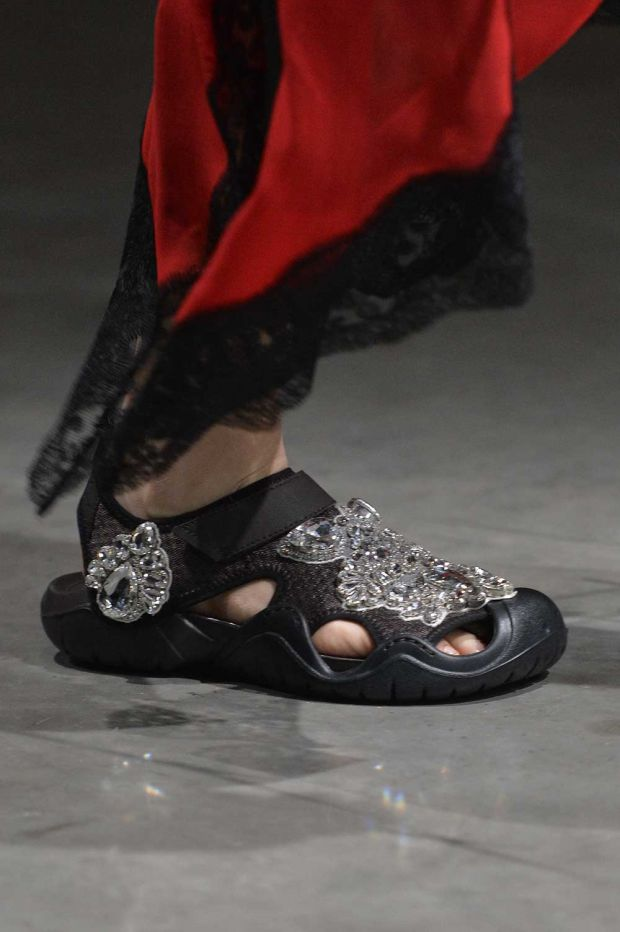 Crocs x Christopher Kane Swiftwater sandals