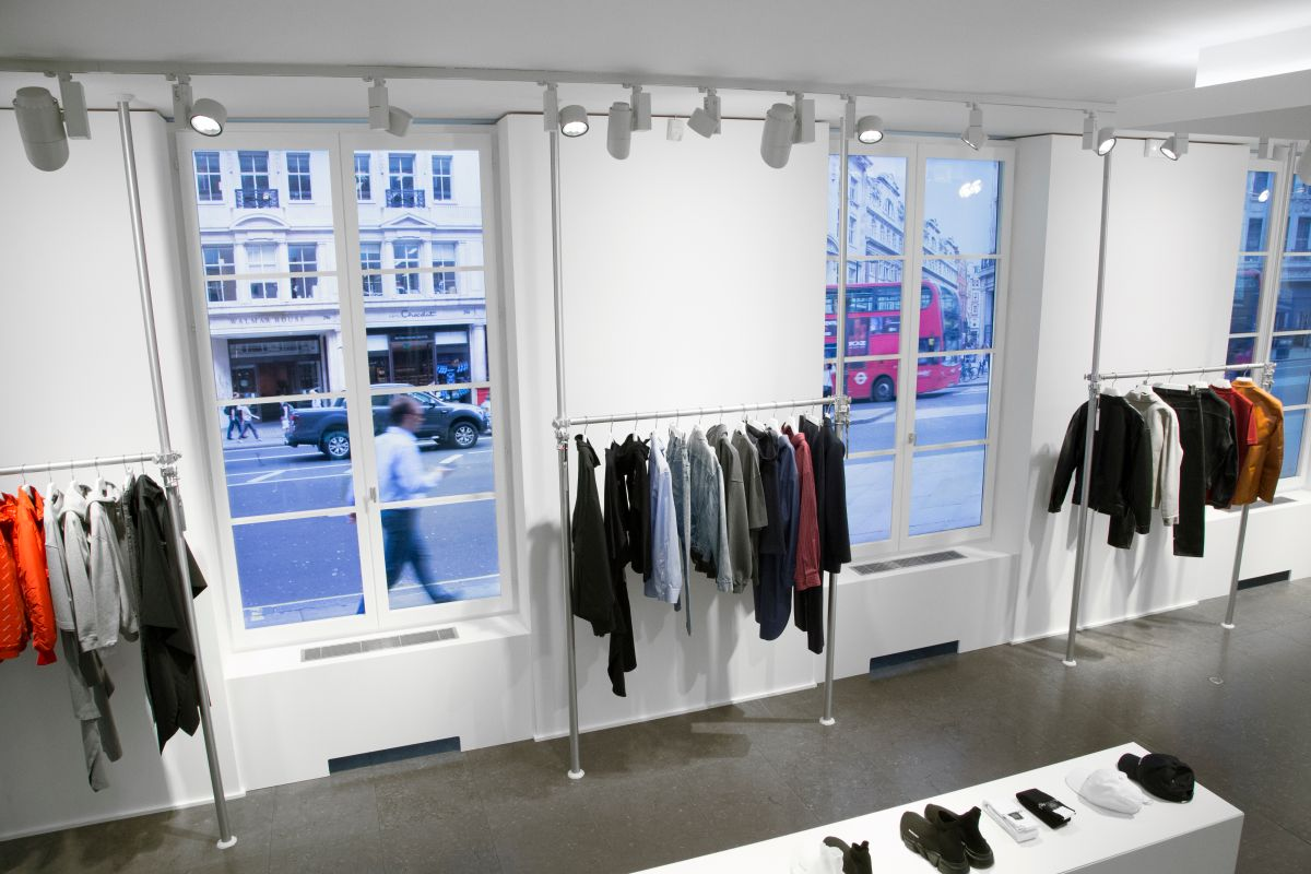 Current Balenciaga installation at Colette