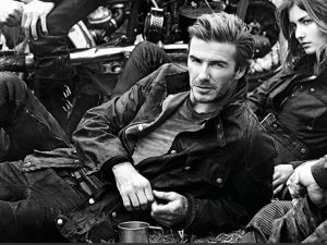 David Beckham for Belstaff