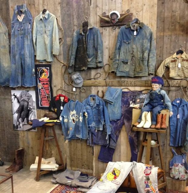Premium Vintage Market at Denim PV's latest edition.