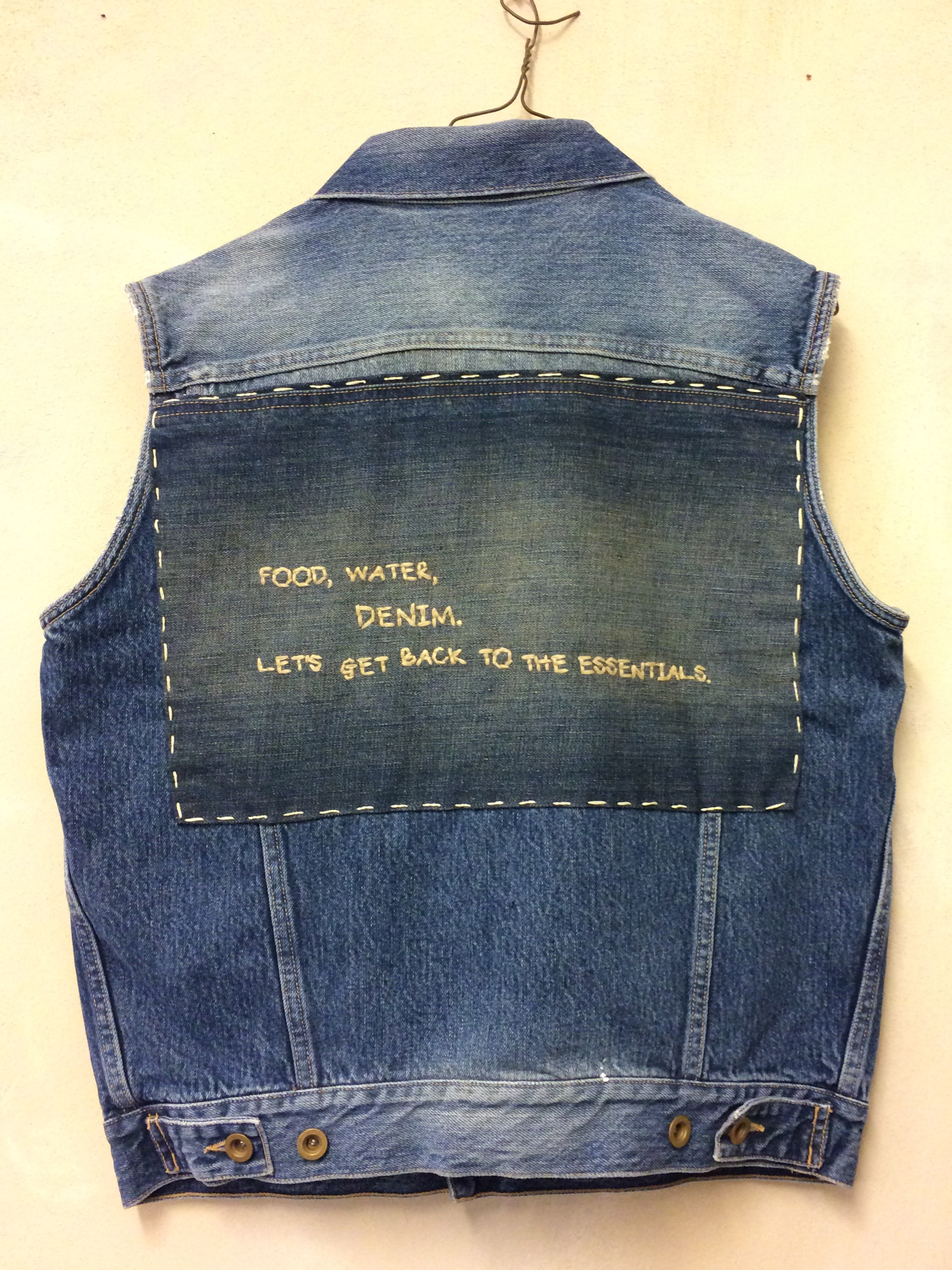Denim sample in Isko's Creative Room