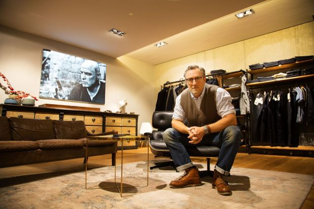 Thomas Acksel, owner and store manager at Franz & Emil in Dresden.