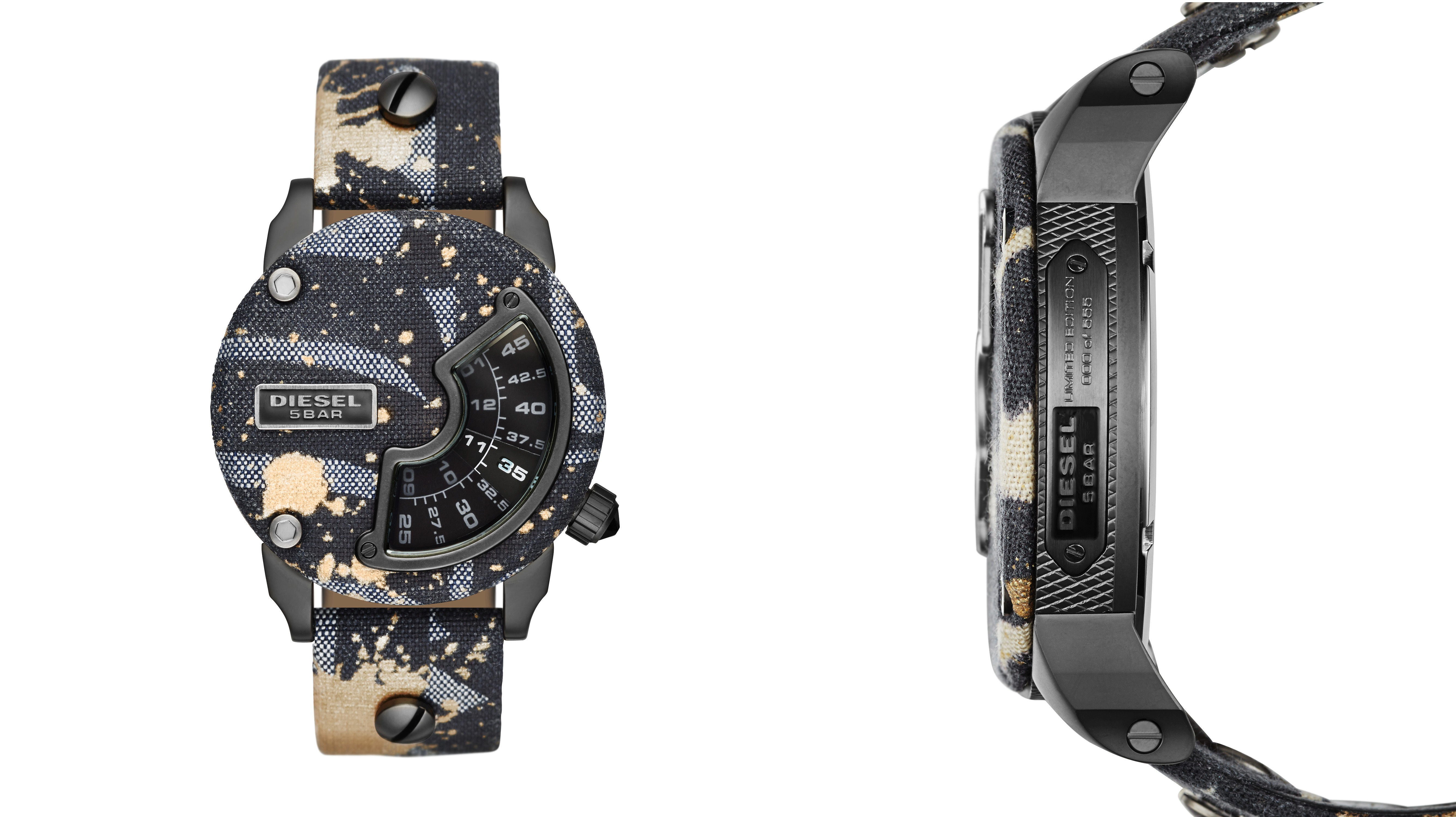 Diesel Alrite limited-edition watch.