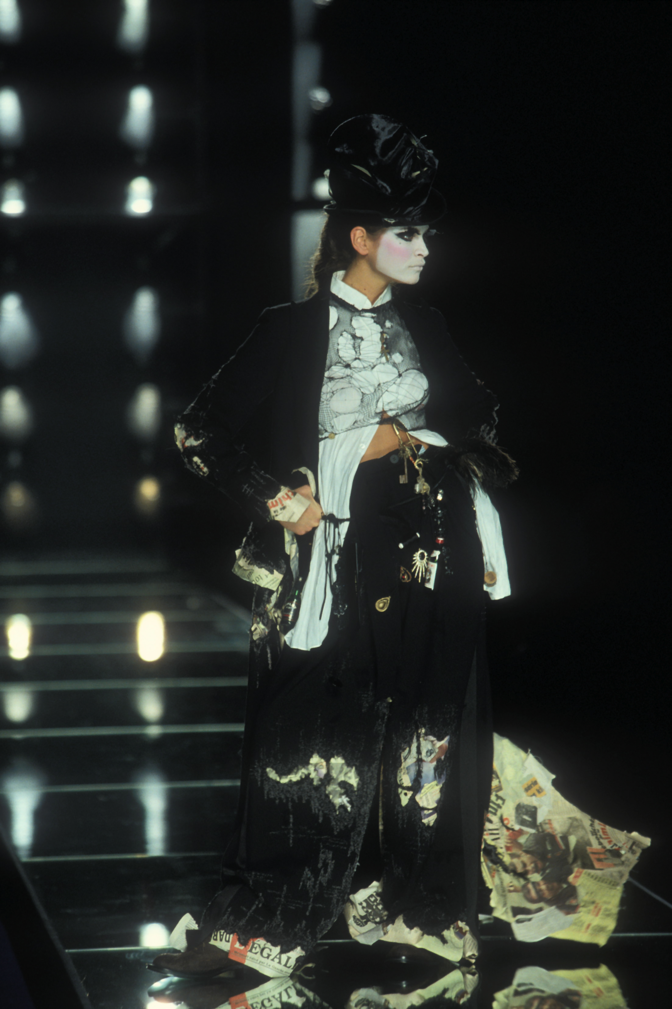 Dior haute couture spring/summer 2000, during the creative tenure of John Galliano.