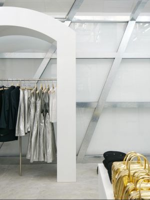 Inside Dover Street Market's first branch in Southeast Asia.