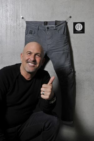 Elias Rumelis founder of Elias Rumelis Denim
