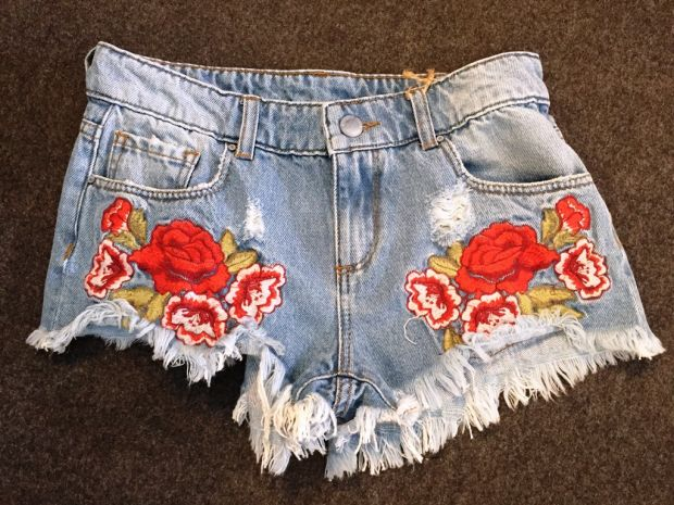 red rose embroideries
