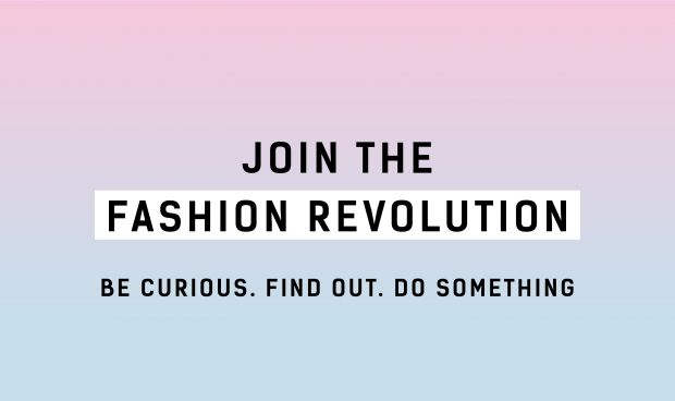 Fashion Revolution campaign