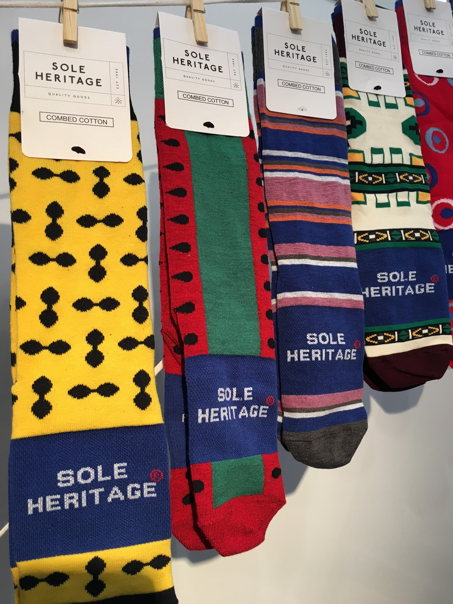 Sole Heritage socks at ASD Hosiery's booth