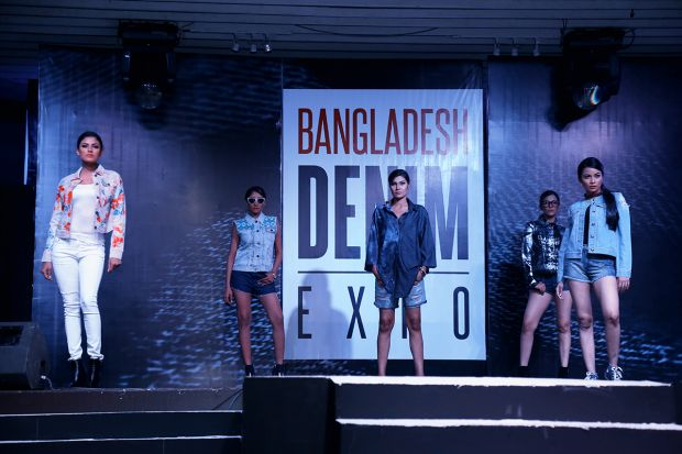 Fashion show at the last Bangladesh Denim Expo