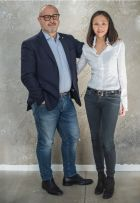 Mauro Gabrielli (Fornarina Srl) &Tina Liu (People Group)
