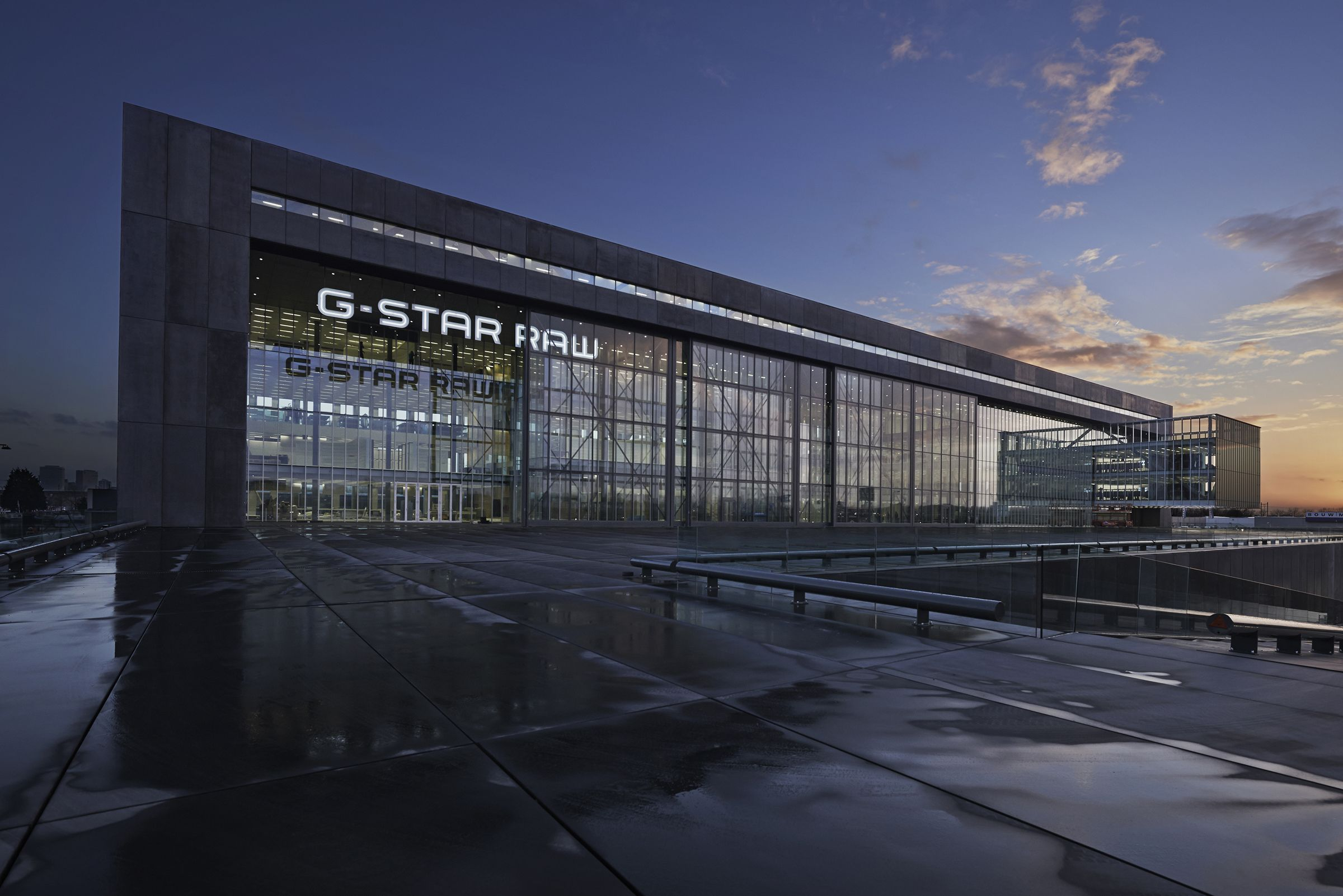G-Star's Amsterdam headquarter