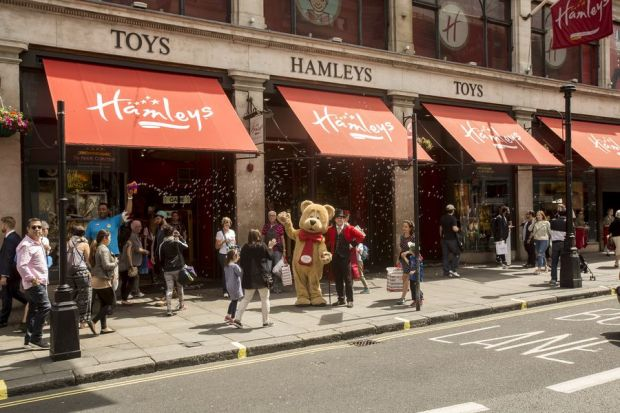 London's Hamleys store