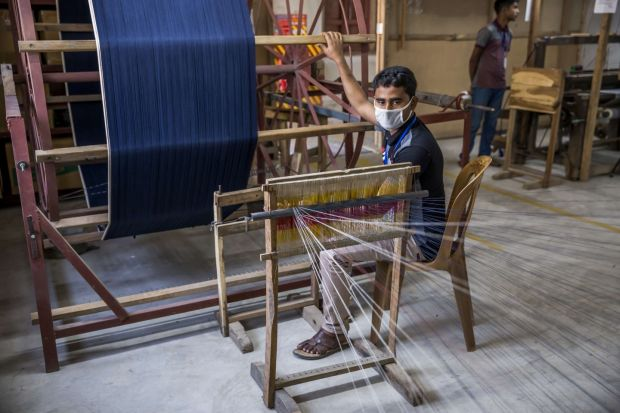 Selvedge Jeans production in Bangladesh