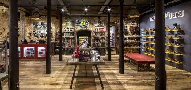 bcaec17034 Retail: Take a look at Dr. Martens' new London store concept