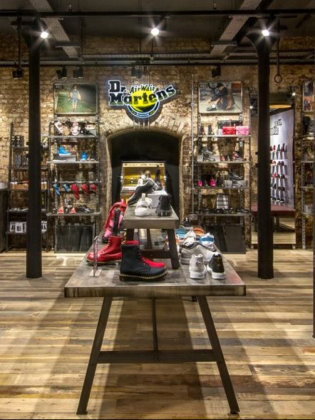 How Dr. Martens' new store concept in London's Camden looks like