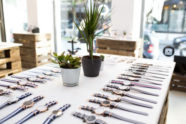 brand's iconic watches, pop-up store in Cologne