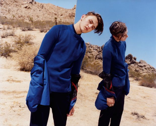Spring/Summer 17 campaign by Anwar Hadid