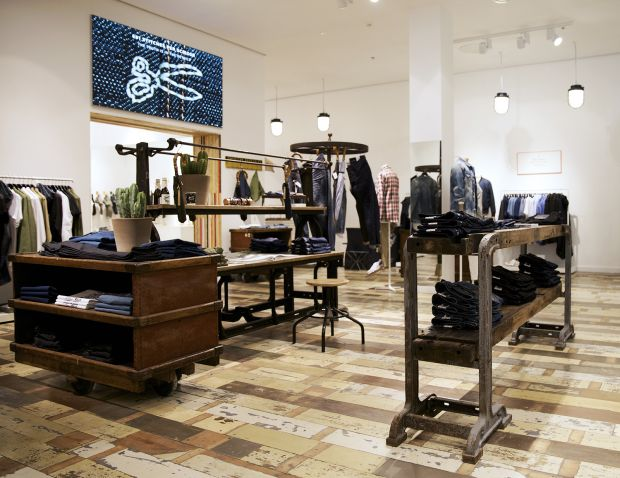 Inside Denham's newest store in Hamburg